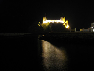 Castle on the harbour at Muscat
