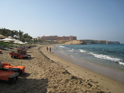 Beach at Barr al Jissah