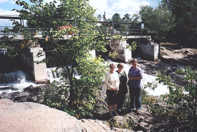 Falls in Bala, ON- Lynn, Chery, Mary Jane