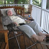 Livia - resting and relaxing at the cottage