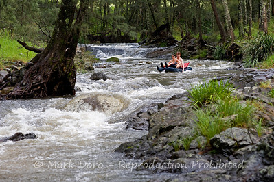 Cobark river rafting, Barrington Tops, NSW