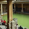 The Roman Baths - only hot spring in the UK