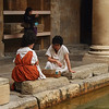 """Roman"" matrons gossiping at the Baths"