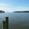 From Adams Landing, looking south to the Pamlico River.