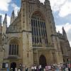 Outside Bath Abbey
