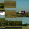 Ok, kids, here's where I need your help.  Along the Central Valley, we saw these crazy signs near the planted fields.  Sometimes there would be two together, but pointing different directions.  Markers for crop dusters?  What?<br /> <br /> You, my Fan, must have some idea about these mystery signs!