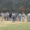 A group of Confederate soldiers.