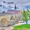 Stone bridge at Regensburg