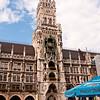 Neues Rathaus on Marienplatz, Munich
