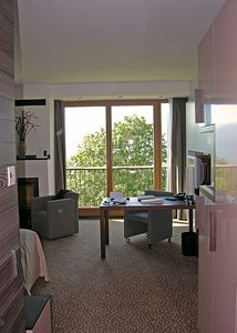 Exectuive Studio room # 360 at the InterContinental Berchtesgaden, Obersalzburg.
