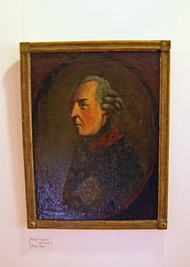 Original painting of Frederick the Great.