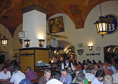 Hofbräuhaus Beerhall.