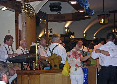 View of the Band at the Hofbräuhaus.