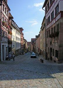 Small Nuremberg street.
