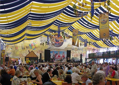 Tucher Beertent at the Nürnberger Volksfest.
