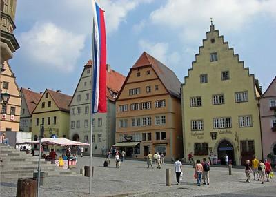 Buildings along the Marktplatz.