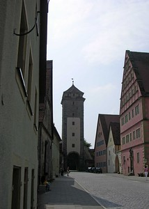 Southern Tor into Rothenburg.