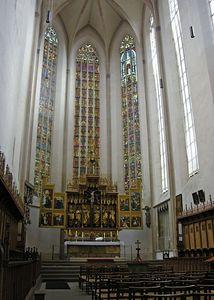 Altar of St. Jakob's Church.