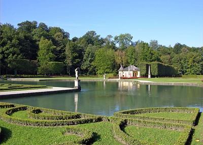 Italian Gardens at Helbrunn Palace.
