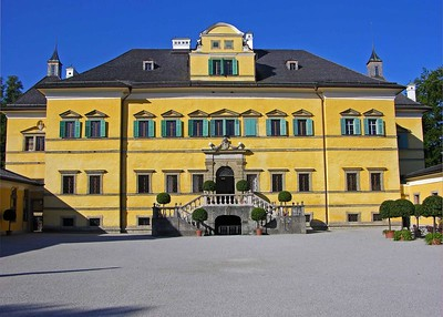 Hellbrunn Palace, built from 1612-1615, is one of the most beautiful examples of manneristic architecture north of the Alps and unique throughout Europe.