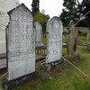 Cemetery at Anglican Church in Bay of Islands, New Zealand.