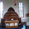 Interior of Anglican Church in Bay of Islands, New Zealand.