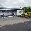 Police Station on Russell island in Bay of Islands, New Zealand.
