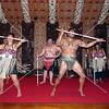 Waitangi cultural performances in Bay of Islands, New Zealand.