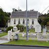 Anglican Church and cemetery at Bay of Islands, New Zealand. ;anglican;christ;church;paihia;village;cemetery