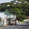 Street view on Russell island in Bay of Islands, New Zealand.