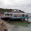 Restaurant and bar at Paihia Village wharf in Bay of Islands, New Zealand.