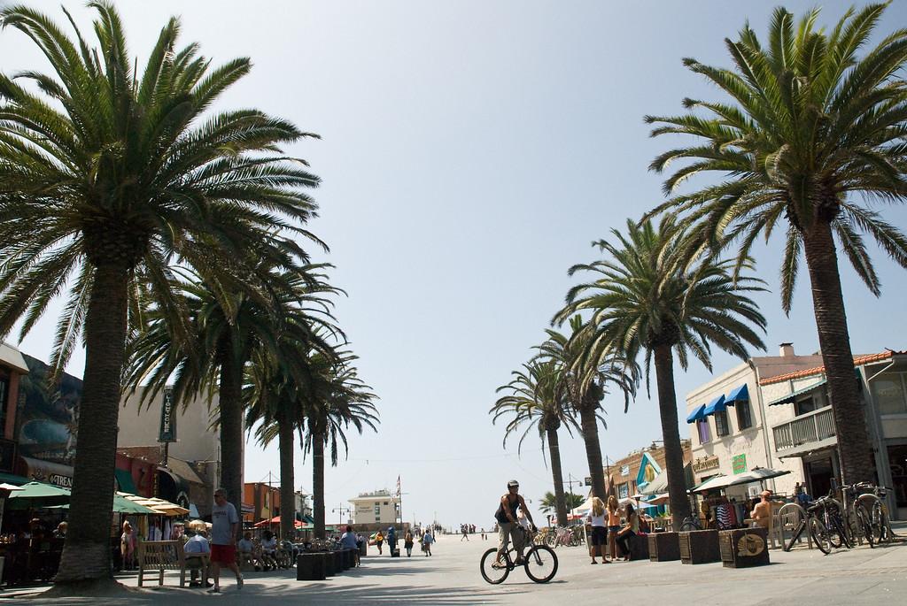 Redondo Beach, near the pier.