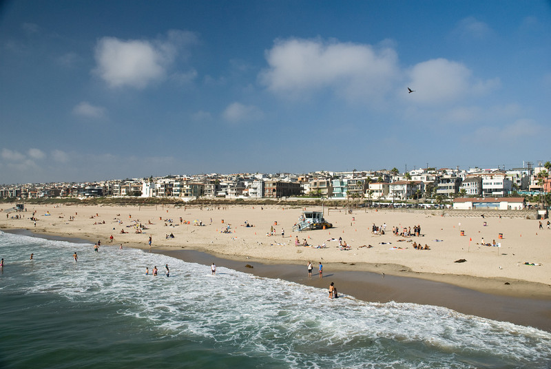 Manhattan Beach panorama.