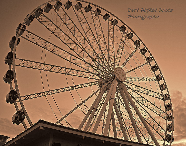 Skywheel at Myrtle Beach at Sunrise