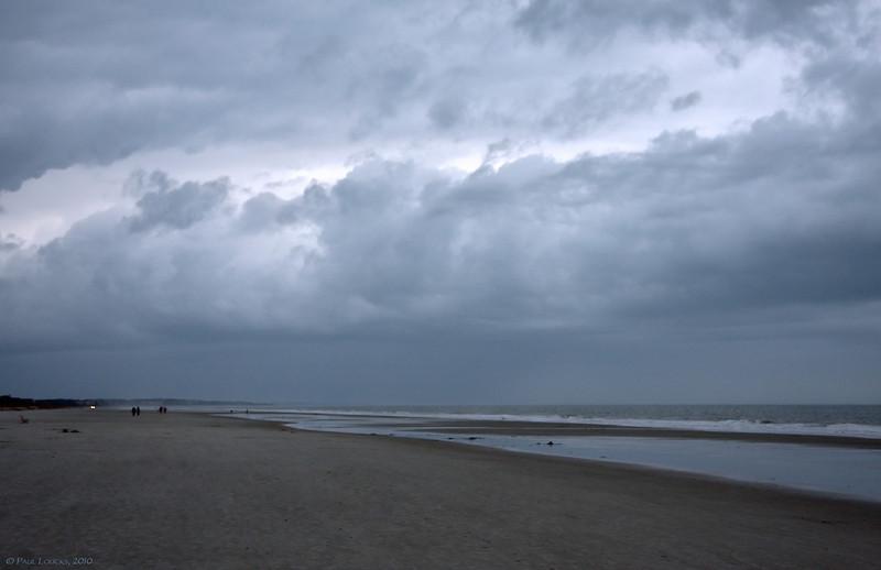 Rain Moving Up the Beach, Palmetto Dunes, Hilton Head Island, SC