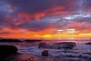 Colorful Sunset from Ocean Beach, San Diego, California