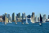 Great afternoon to be sailing on San Diego Bay