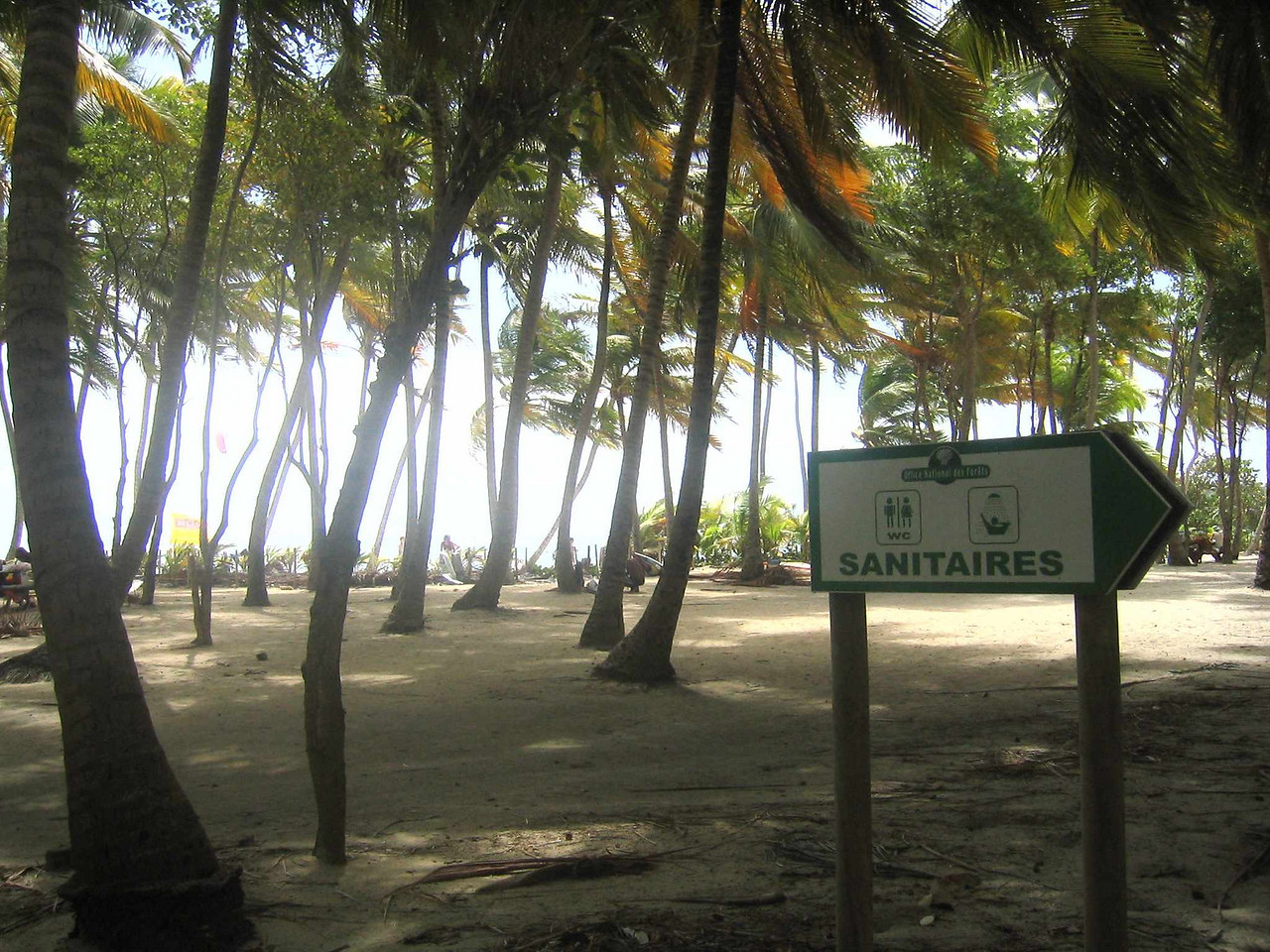 There is a snack bar, rentals for wind and sail surfing, and public toilettes on Anse Michel.