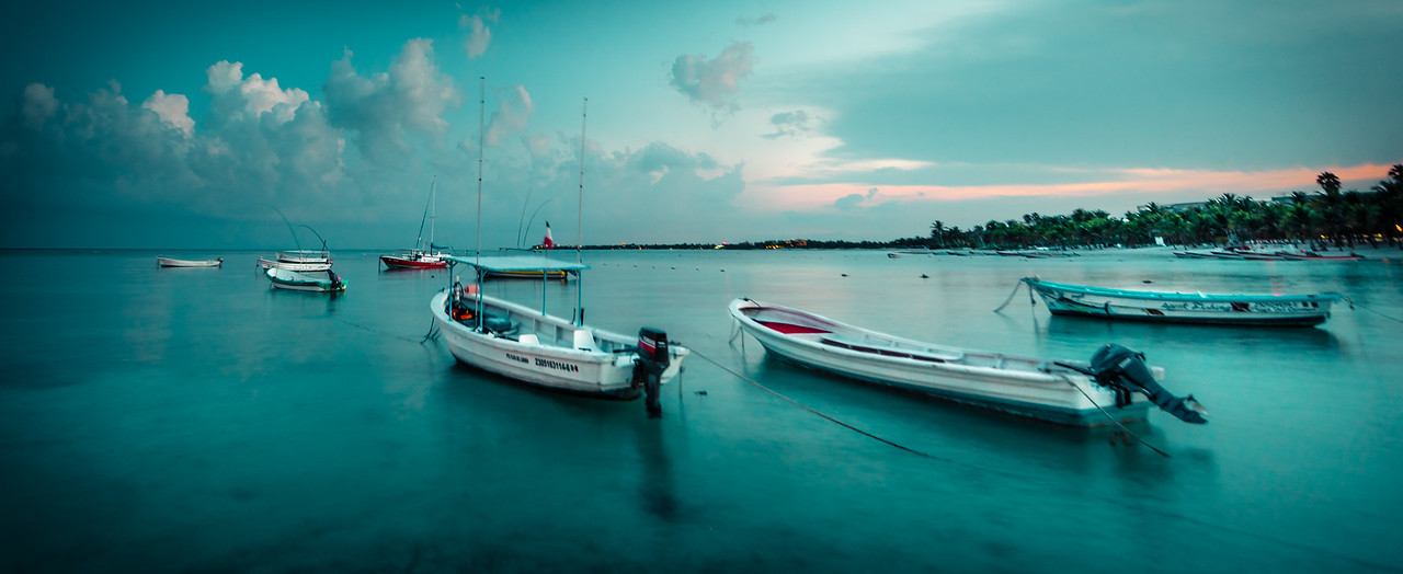 Akumal in the Evening