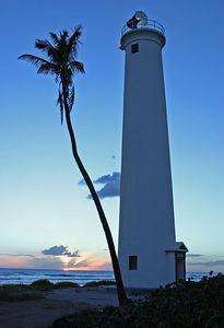 Barber's Point Lighthouse Oahu Hawaii