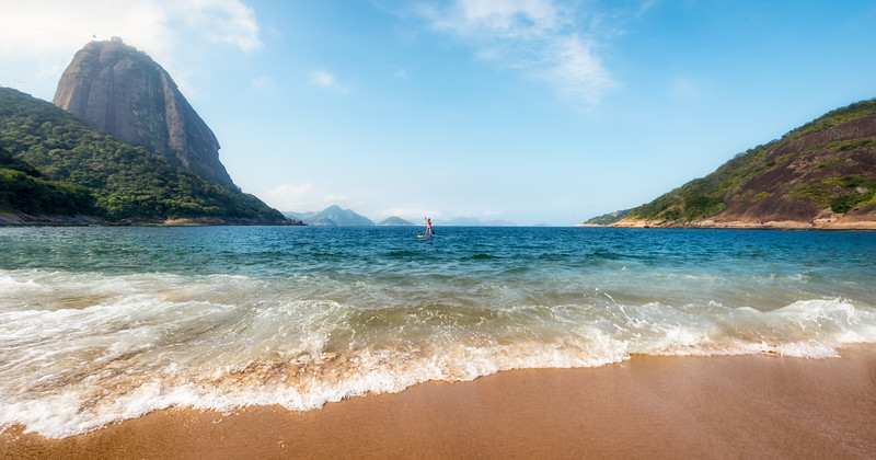 Pretty Praia Vermelha in Rio