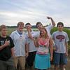 Kyle, Ben, Jake, Natalie, Jonathon, Jayson