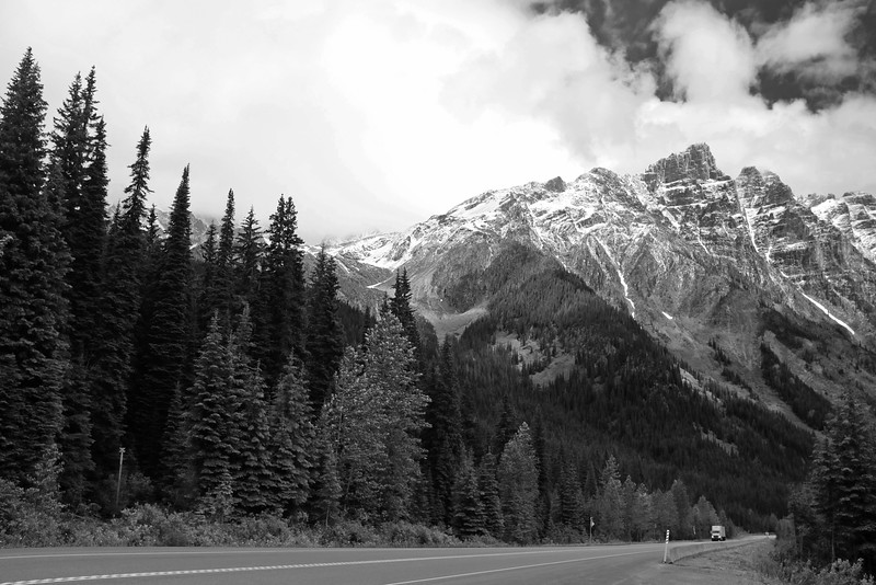 Trans Canada Highway at Roger's Pass