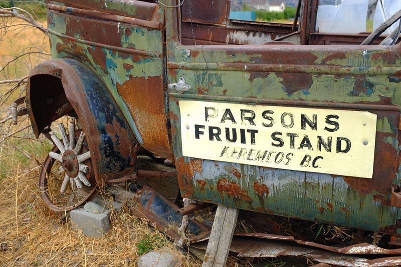 Parsons Fruit Stand, Keremeos