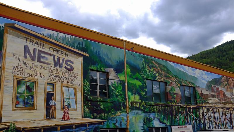 Trail Murals