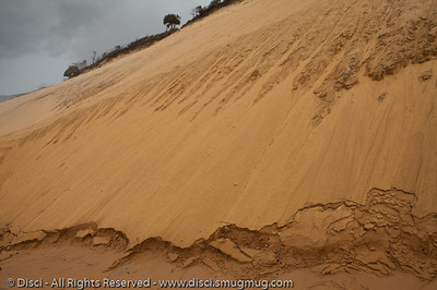 Coloured Sands of Rainbow Beach, Queensland, Australia; June 2010