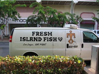 Fresh Island Fish