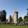 The town castle in Herzele, East Flanders. Brouwerij De Ryck is on the other side of the field!