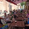 A very generous tasting session at Liefmans, East Flanders.