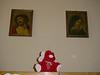 Der Erstaz-Marco ist sehr gläubig und saß daher am liebsten zwischen Jesus und Maria